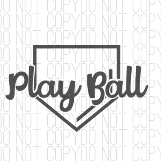 Play Ball Digital Design by Kingdom Designs