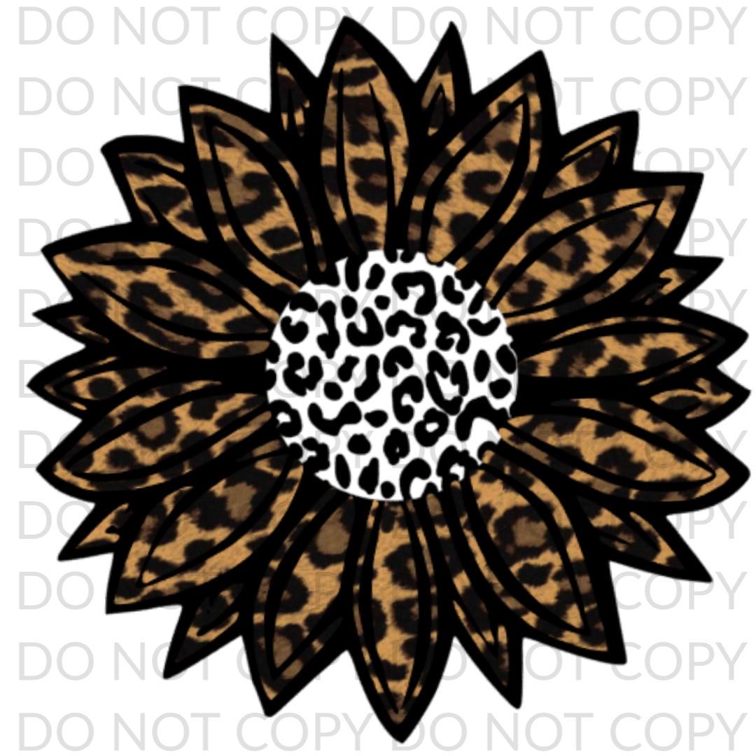 Sunflower Cheetah leopard