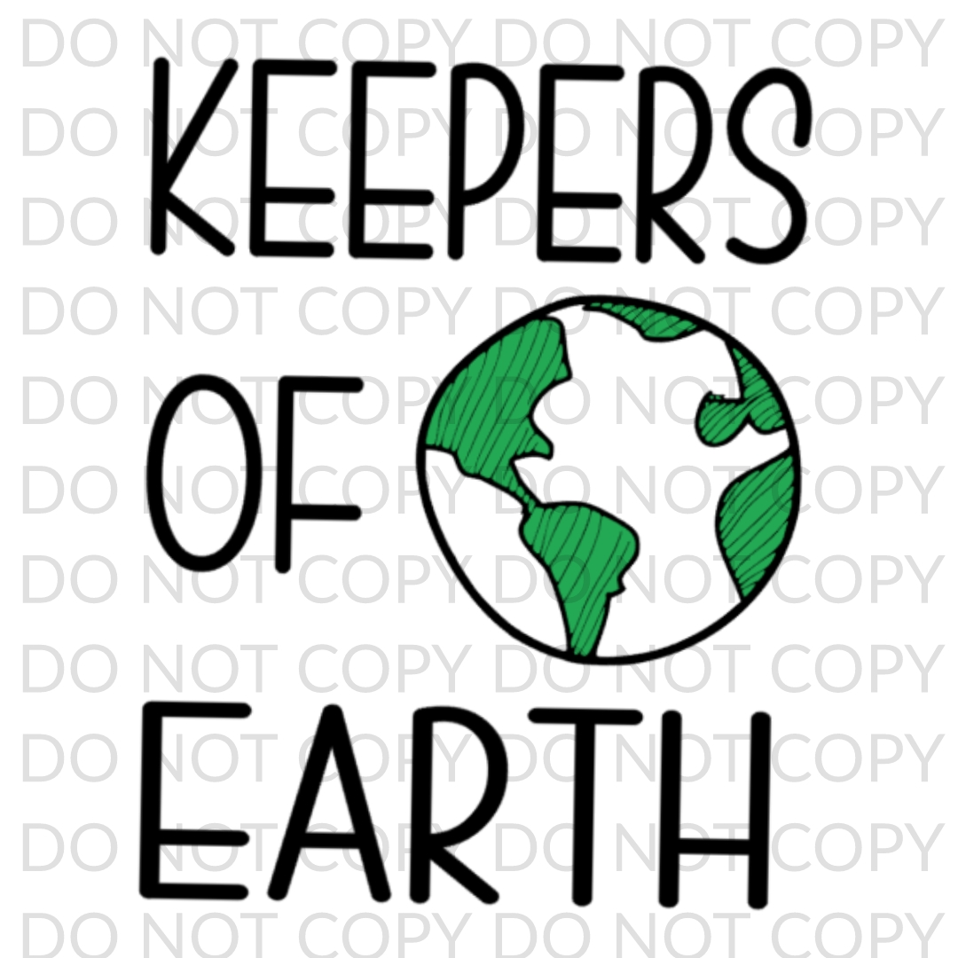 Keepers Of Earth digital design