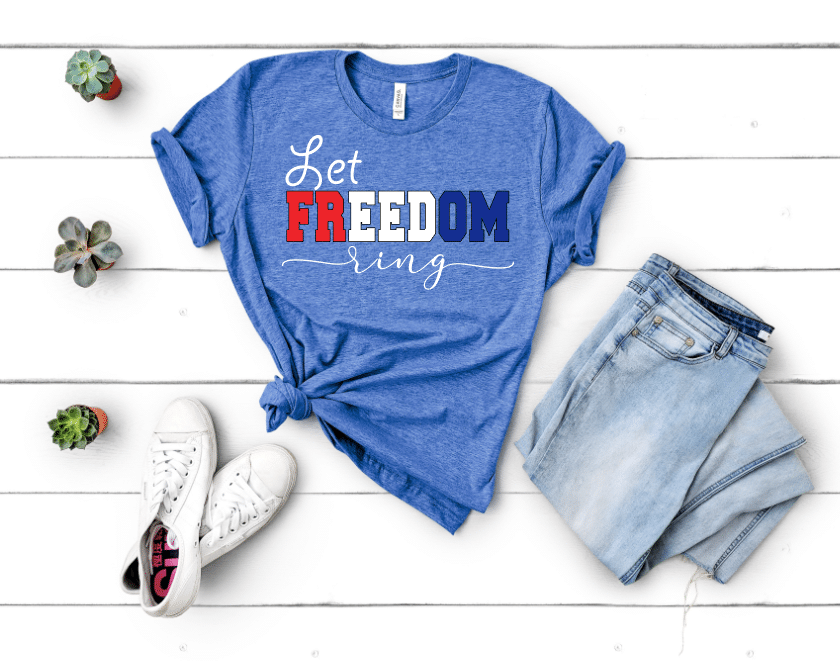 Let Freedom Ring Mockup