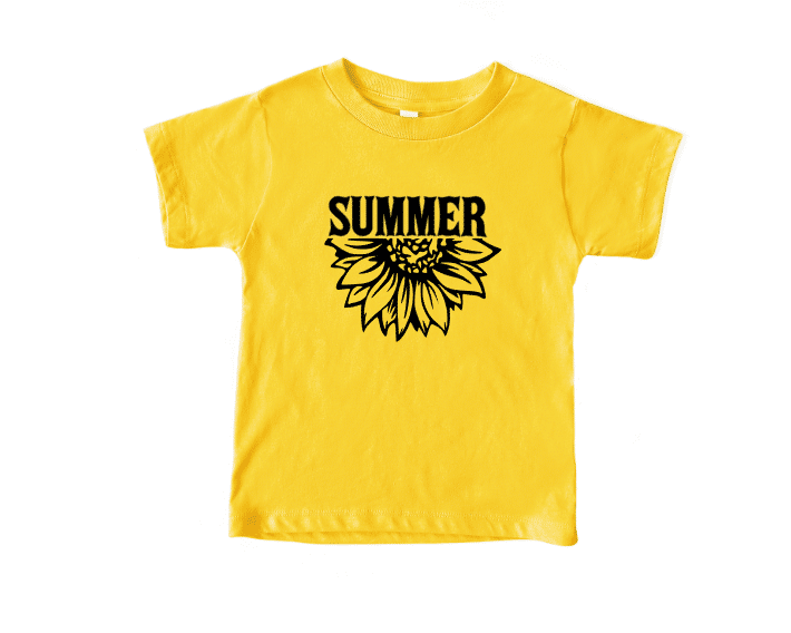 Summer Flower Youth Mockup