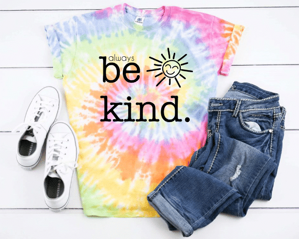 always be kind mockup