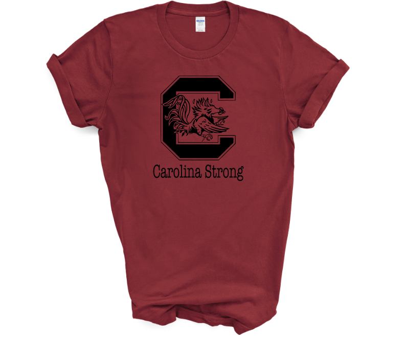Carolina Strong Screen Print Transfer Mockup