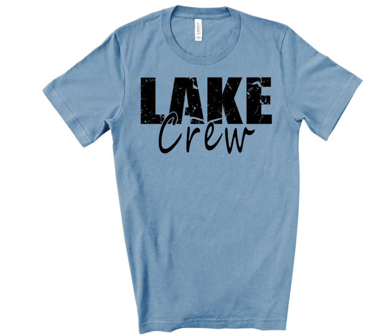 Lake Crew Adult Screen Print Transfer