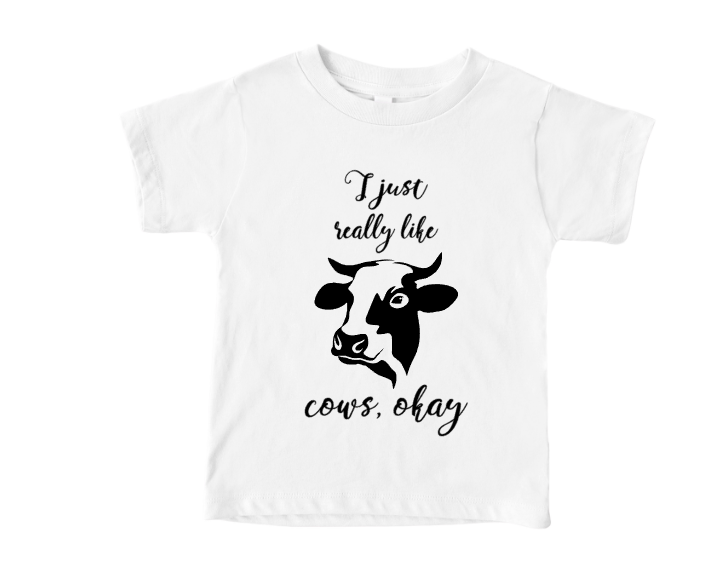 i just really like cows ok youth