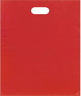 Red Merchandise Bag 15 x 18