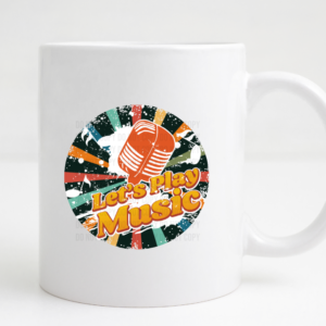 lets play music coffee mug